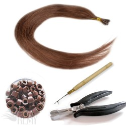 Profi Set 302 Teile I-Tip Haarverlängerung (0.5g)