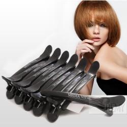 Haarspangen Abteilklammern Hohe Qualität 10cm lang Schwarz