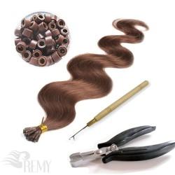 Profi Set 302 Teile I-Tip Haarverlängerung (1.0g)