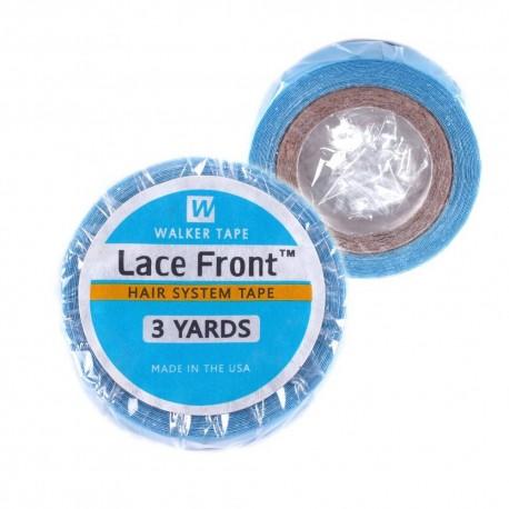 6mm x 5,50m Lace Front Tüll Perücken Toupets Monofilament Filmansätze PU Band