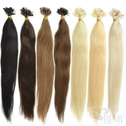 U-Tip Echthaar Haarverlängerung (20 Str.)