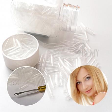 25 Schrinkies Schrumpfschläuche Haarverlängerung