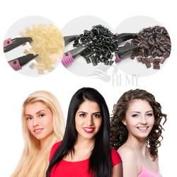 10 Keratin Bondings Ersatzbondings Haarverlängerung