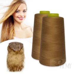 5 Tressenclips für Haarverlängerung 6 Zähne Blond