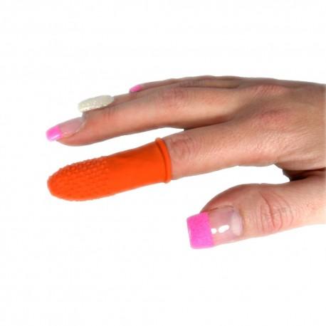 Fingerschutz für Haarverlängerung mit Wärme Methode
