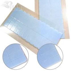 120 Lace Front Cuttings Strips Tabs Tüll Perücken Toupets Monofilament Filmansätze PU Band