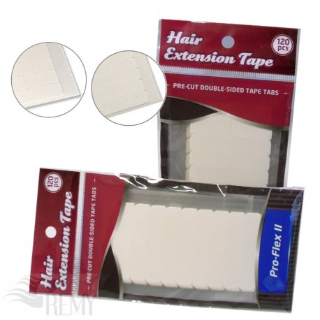 120 Pro Flex Cuttings Strips Tabs Tapeband Tape On Extensions Tressen Haarteile