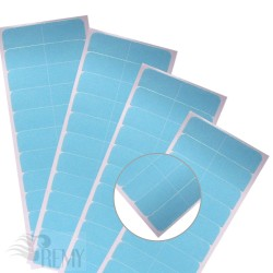 12 Super Hair Tape Blue Liner Ersatz Klebestreifen  Hair Extensions