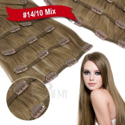 Clip In Extensions Vollkopf Set (7 Teile)