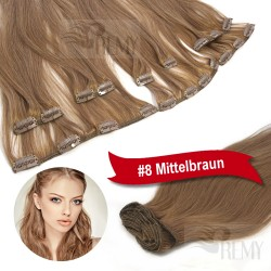 60cm Clip In Extensions Großes Set (13 Teile)