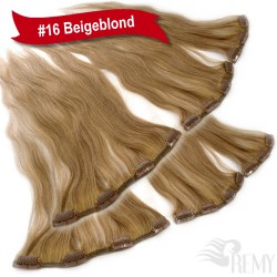 Clip In Extensions Hinterkopf Set (3 Teile)