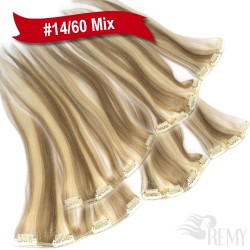 45cm Clip In Extensions Doppelpack (6 Teile)