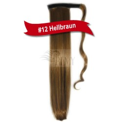 Pferdeschwanz Zopf Haarteil Ponytail (Band oder Spange)