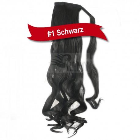 Haarverlangerung zopf spange