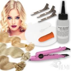 Starter Set 27 Teile Bonding Haarverlängerung