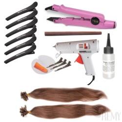 Profi Set 155 Teile Bonding Haarverlängerung