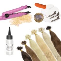 Profi Set 207 Teile Bonding Haarverlängerung