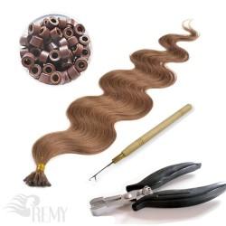 Starter Set 122 Teile I-Tip Haarverlängerung (1.0g)