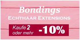 Bonding Extensions und Echthaar Bonding Haarverlängerung kaufen - Remyhaar Extensions