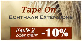 Tape On - Tape On Extensions und Klebe Extensions kaufen - Remyhaar Extensions