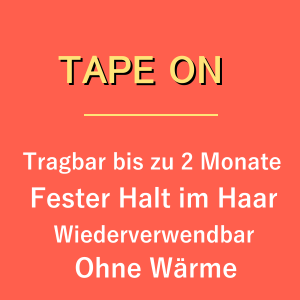 Tape Extensions Tape Haarverlängerung