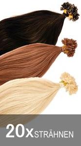 Bonding Strähnen Haarverlängerung