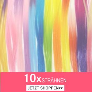Bunte Haare Extensions Strähnen