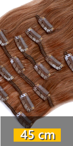 Clip In Echthaar Extensions