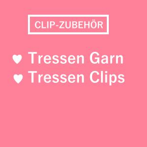 Tressenclips Tressen Clips Tressengarn Garn