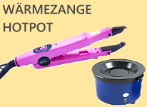 Wärmezange Connector Hot Pot Keratinpistole
