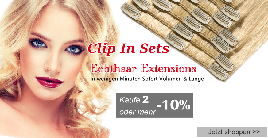 Clip In Set 10% Rabatt